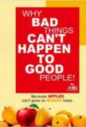 Why Bad Things Can't Happen To Good People!