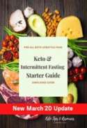 Keto & Intermittent Fasting Starter Guide