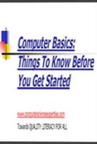 Computer Basics, by Dheeraj Mehrotra: FREE Book Download