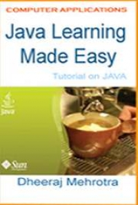 java easy learning pdf free download