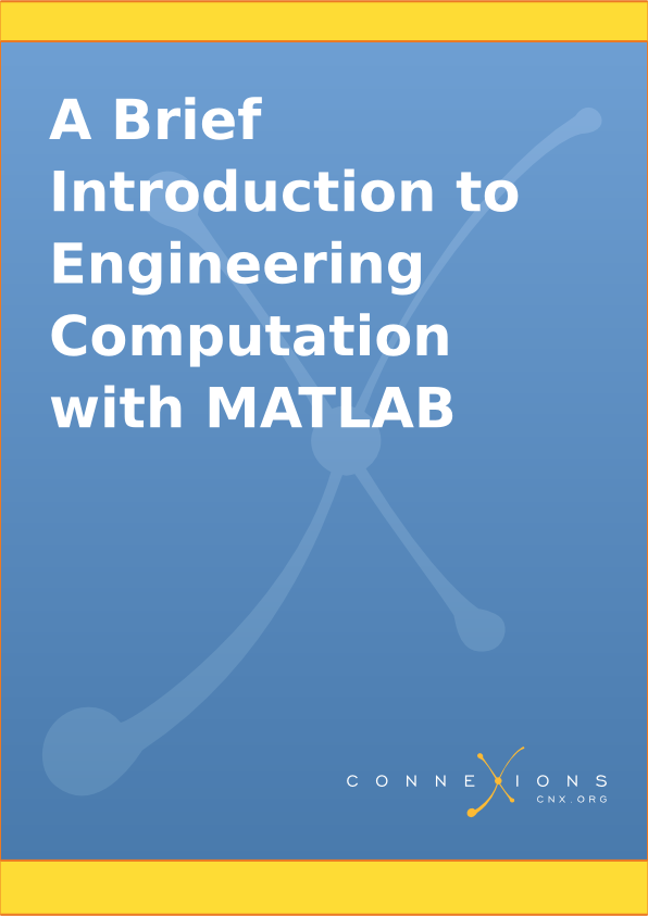 Resultado de imagen de A Brief Introduction to Engineering Computation with MATLAB