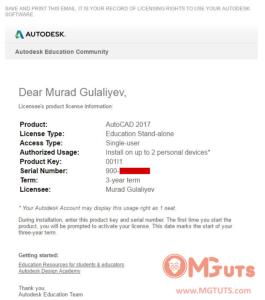 My First Steps in Autocad by Murad Gulaliyev / Mgtuts com