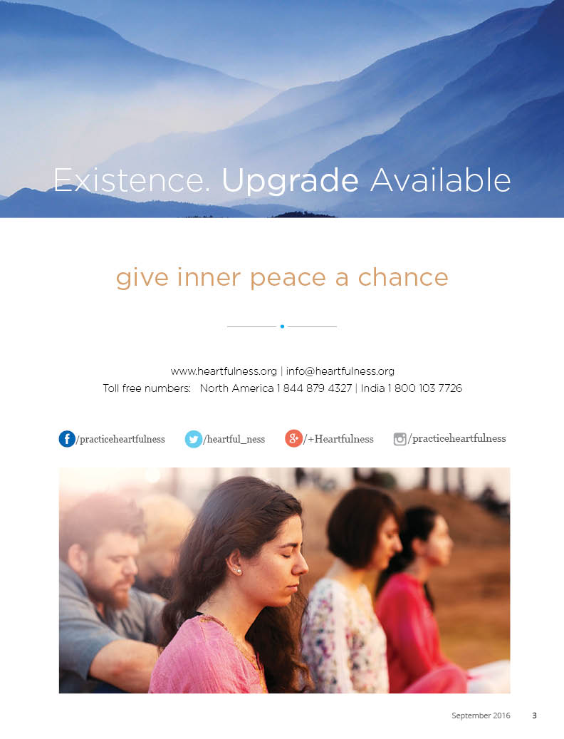 Heartfulness Magazine Issue 11 by Sahaj Marg Spirituality