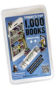 Top 1000 eBooks Front view photo
