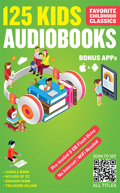 125 Audiobook Kids Bundle