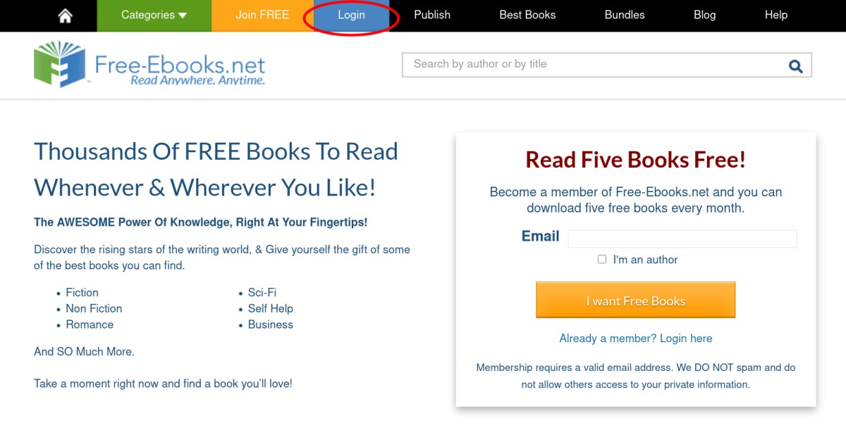 Faq For How Do I Upload My Ebook To Free Ebooks Net S Library